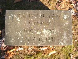 Ida Pearl Bain