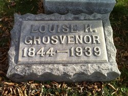 Louise H. <i>Currier</i> Grosvenor
