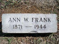 Ann <i>Watkins</i> Frank