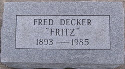 Fritz Fred Decker