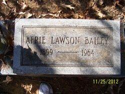 Afrie <i>Lawson</i> Bailey