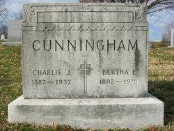 Bertha Emma <i>Willman</i> Cunningham