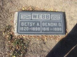Betsy A. <i>Sweet</i> Webb