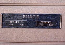 Donald A. Burge