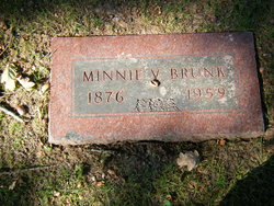Minnie V <i>Miller</i> Brunk
