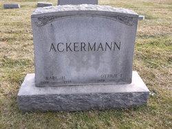 Ottilie L. Ackermann