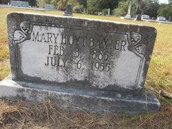 Mary <i>Hoyt</i> Baxter