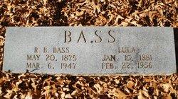 Lula <i>Hawkins</i> Bass