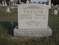 Rosetta Elizabeth <i>Lupher Gilson Taylor</i> Osborn