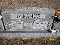 Alma Jean <i>Logan</i> DeRamus
