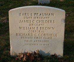 Corp William B Brown