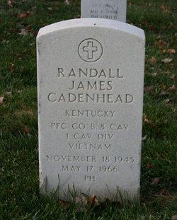 Pvt Randall James Cadenhead