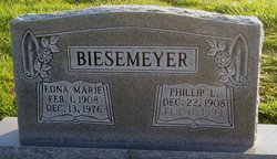 Edna Marie <i>Woolsey</i> Biesemeyer