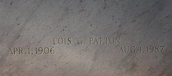 Lois G. <i>Duffey</i> Patton