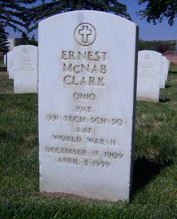 Pvt Ernest McNab Clark