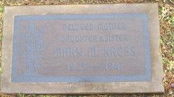 Mary Margaret <i>Tucker</i> Kress
