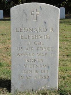 LTC Leonard R. Elfervig, Sr