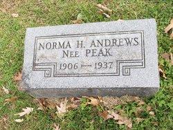 Norman Harriet <i>Peak</i> Andrews