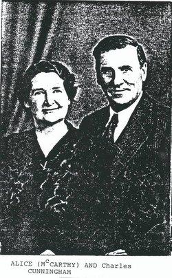 Alice Cecelia <i>McCarthy</i> Cunningham