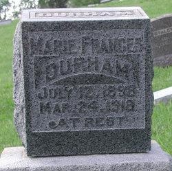 Marie Frances Durham