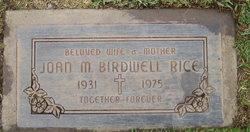 Joan Maria <i>Birdwell</i> Rice