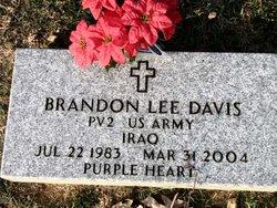 Pvt Brandon Lee Davis