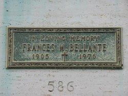 Frances <i>Morrocco</i> Bellante