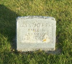 Mabel D Abramson
