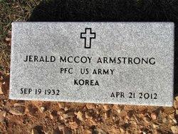 PFC Jerald Mccoy Armstrong
