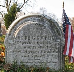 Pvt Josiah G Cooper