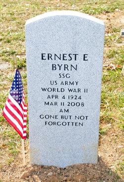 Sgt Ernest E. Byrn