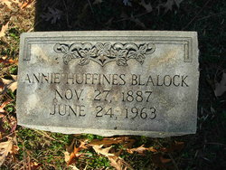 Annie <i>Huffines</i> Blalock