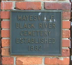 Mayesville Black River Cemetery