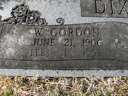 William Gordon Dixon, Sr