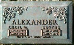Edythe <i>Pockett</i> Alexander