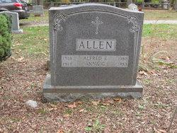 Alfred E Allen