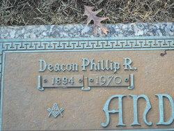 Phillip R Anderson