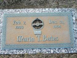 Maria T Bates