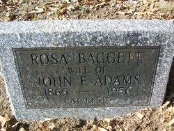 Sarah Rosa <i>Baggett</i> Adams