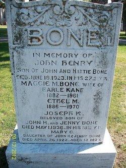Ethel Bone