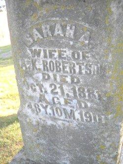 Sarah A Robertson