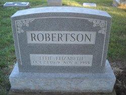 Effie Elizabeth Robertson