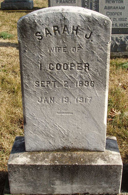 Sarah Jane <i>Keller</i> Cooper