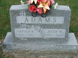 Jessie M <i>Gring</i> Adams