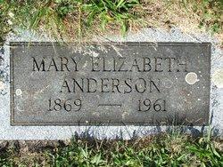 Mary Elizabeth <i>Rice</i> Anderson
