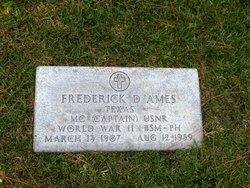Dr Frederick Daniel Ames