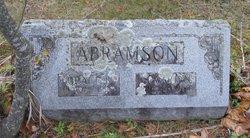 Grace <i>Burroughs</i> Abramson