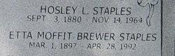 Etta Moffit <i>Brewer</i> Staples