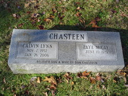 Calvin Lynn Chasteen