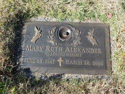 Mary Ruth <i>Wheatley</i> Alexander